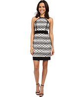 Laundry by Shelli Segal - Cut Away Novelty Sheath Dress