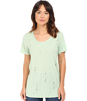 Culture Phit - Laurence Laser Cut Short Sleeve Top
