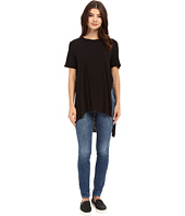 Culture Phit - Naely Round Neck High-Low Top with Slits