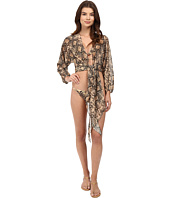 Michael Kors - Snake-Print Cover-Up