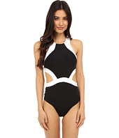 JETS by Jessika Allen - Classique High Neck Cut Out One-Piece