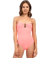 Vince Camuto - Milos Solids Tube Band Maillot w/ Removable Soft Cups