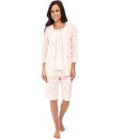 Carole Hochman - Three-Piece Bermuda Pajama Set