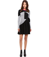 McQ - Colour Block Skater Dress