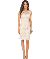 Adrianna Papell - Cap Sleeve Sheath Dress with Beads