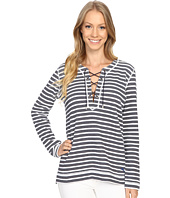 Tommy Bahama - La Luna Stripe Lace-Up Crew