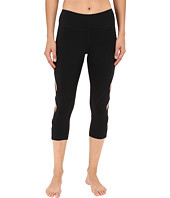 Pink Lotus - Keep It on Time Attitude Solid Performance Capris