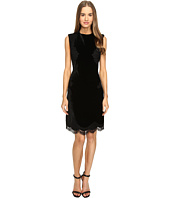 Alberta Ferretti - Sleeveless Lace Trim Dress