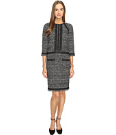 Alberta Ferretti - Tweed 3/4 Sleeve Dress