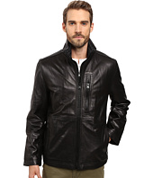 Marc New York by Andrew Marc - Salem Leather Jacket w/ Removable Quilted Bib