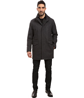 Marc New York by Andrew Marc - Stanford Pressed Wool Car Coat with Removable Quilted Bib