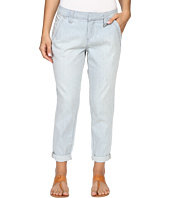 Jag Jeans Petite - Petite Dana Engineer Stripe Boyfriend Chino in Bleach