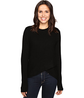 Christin Michaels - Louisa Cross Front Crew Neck Cashmere Sweater