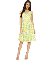 Brigitte Bailey - Lucy Lemon Printed Dress