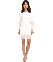 Nicole Miller - Organza Sticker Dot Bell Sleeve Dress