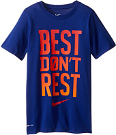 Nike Kids - DFCT Best Don't Rest Tee (Little Kids/Big Kids)