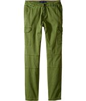 Tommy Hilfiger Kids - Stretch Sateen Cargo Pants (Little Kids/Big Kids)
