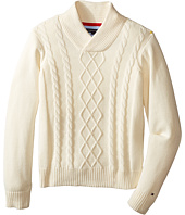 Tommy Hilfiger Kids - Sam Shawl Cable Sweater (Toddler/Little Kids)