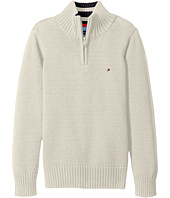 Tommy Hilfiger Kids - Edward 1/2 Zip with Rib Stitch Sweater (Big Kids)