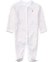 Ralph Lauren Baby - Interlock Floral One-Piece Coveralls (Infant)