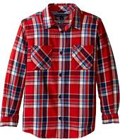 Tommy Hilfiger Kids - Jazz Long Sleeve Shirt (Toddler/Little Kids)
