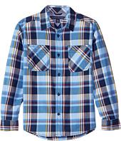 Tommy Hilfiger Kids - Kingsley Long Sleeve Shirt (Big Kids)