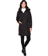LAUREN Ralph Lauren - Belted Down w/ Faux Fur Hood