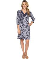 Fresh Produce - Cancun 3/4 Sleeve Notch Dress