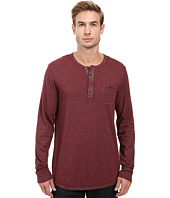 Alternative - Smoked Wash Organic Pima Raw Edge Henley