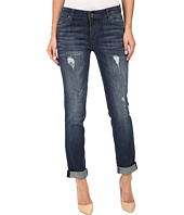 KUT from the Kloth - Catherine Boyfriend Jeans in Allowing w/ Dark Stone Base Wash