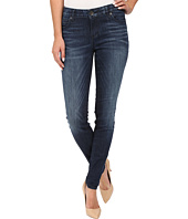 KUT from the Kloth - Mia Toothpick Five-Pocket Skinny Jeans in Appeal w/ Dark Stone Base Wash