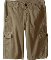 True Religion Kids - Overdye Trooper Cargo Shorts (Big Kids)