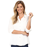 B Collection by Bobeau - Vala Button Front Blouse