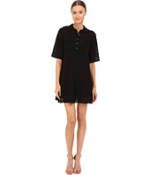 M Missoni - Solid Fancy Knit Button Dress
