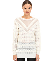 M Missoni - Solid Long Sleeve Top