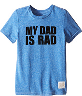 The Original Retro Brand Kids - My Dad is Rad Tri-Blend Tee (Little Kids/Big Kids)
