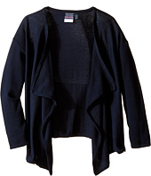 Nautica Kids - Girls Plus Drape Front Sweater (Big Kids)