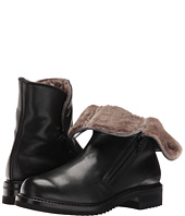Gravati - Double Zip Ankle Boot With Shearling Lining