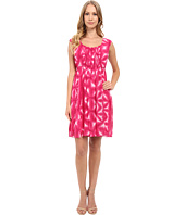 Calvin Klein - Sleeveless Fit & Flare Printed Dress CD5H9H2P