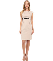 Calvin Klein - Cap Sleeve Empire Waist Sheath Dress CD5G1BD6