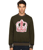Vivienne Westwood - Crown Embroidery Sweatshirt
