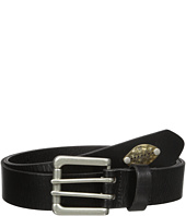 Scotch & Soda - Classic Belt in Suede Quality with Metal Stud Detail