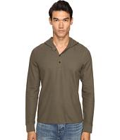 Vince - Long Sleeve Hooded Henley