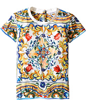 Dolce & Gabbana Kids - Escape Maiolica T-Shirt (Toddler/Little Kids)