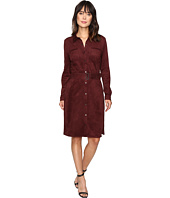 NYDJ - Allison Faux Suede Shirtdress