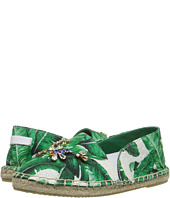 Dolce & Gabbana Kids - Botanical Garden Banana Leaf Espadrille (Toddler/Little Kid/Big Kid)
