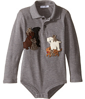 Dolce & Gabbana Kids - Patch Canine One-Piece (Infant)