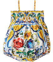 Dolce & Gabbana Kids - Escape Maiolica Floral One-Piece (Infant)