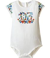 Dolce & Gabbana Kids - Escape Maiolica Logo One-Piece (Infant)