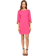 Halston Heritage - Flutter Sleeve Mini Dress
